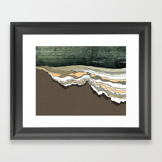 Breakthrough Framed Art Print