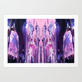 Sinistra - Abstract Costellation Painting Art Print