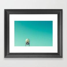 a sphere Framed Art Print