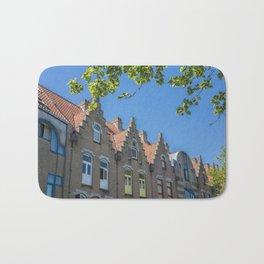 Bruges skyline Bath Mat