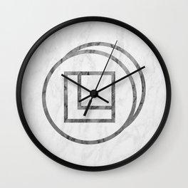 David in Marble Wall Clock