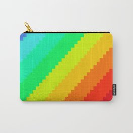 Pixel Rainbow Dreams Carry-All Pouch