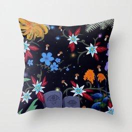 graveflies Throw Pillow