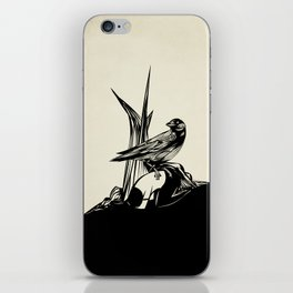 Crows must never win iPhone Skin