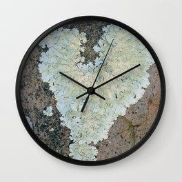 I Really Really Lichen You Wall Clock