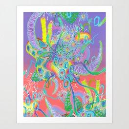 Alien Organism 18 Art Print