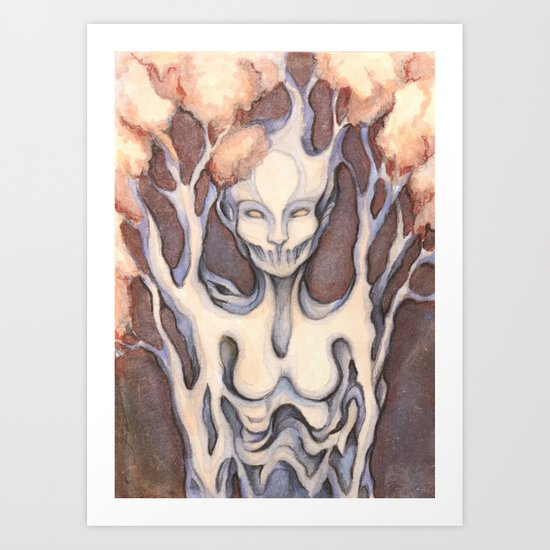 Guardian of the Forest Art Print