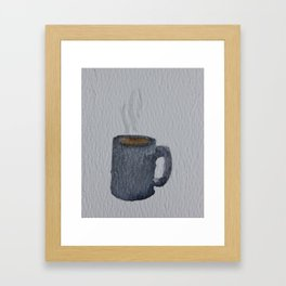 Tea Mug Framed Art Print