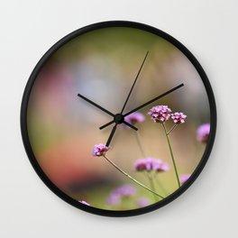 Flowers London 1 Wall Clock