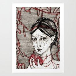 Merrill: ball of twine Art Print