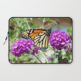 Summer Monarch Laptop Sleeve