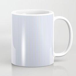 Minimalistic Blue Sripes Pattern Coffee Mug
