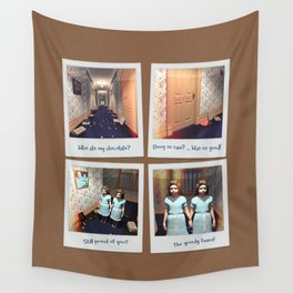 Twins & Chocolate Wall Tapestry