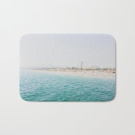 Santa Monica Beach MINT Bath Mat
