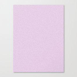 Pastel Violet Saturated Pixel Dust Canvas Print