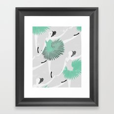 BALLET Framed Art Print