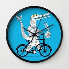 The Crococycle Wall Clock