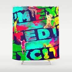 I'm Excited Shower Curtain