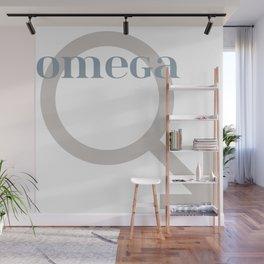 Omega male symbol Wall Mural