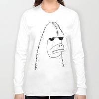 sasquatch Long Sleeve T-shirts featuring Sasquatch by NarwhalWolf