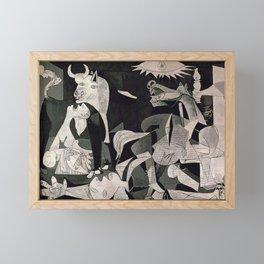 GUERNICA #1 - PABLO PICASSO Framed Mini Art Print