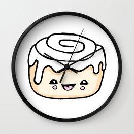 Cinnamon Bun Wall Clock