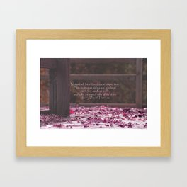 Nature's Invitation Framed Art Print