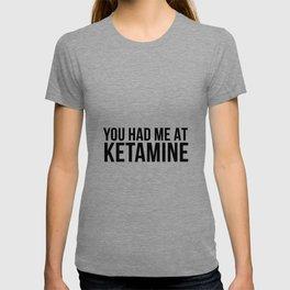 Ketamine psychodelic drug gift T-shirt