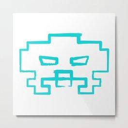 Invader !!   retrogaming nemesis Metal Print