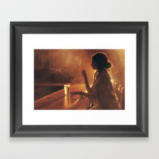 Mama In the Corner Framed Art Print