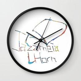 Drawing of Jazzmeia Horn Wall Clock