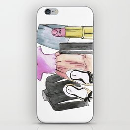 Clothing composition iPhone Skin