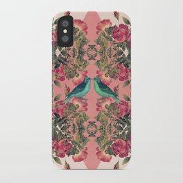 Love Birds II (pink edition) iPhone Case