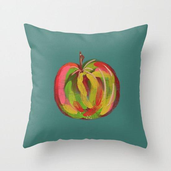 Irish Apple Throw Pillow