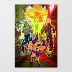 Uncanny X-Men Canvas Print