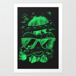 Hipster Invasion Art Print