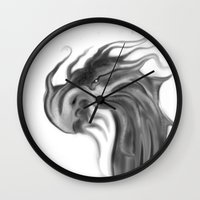 dragons Wall Clocks featuring Dragons by DragonsTime