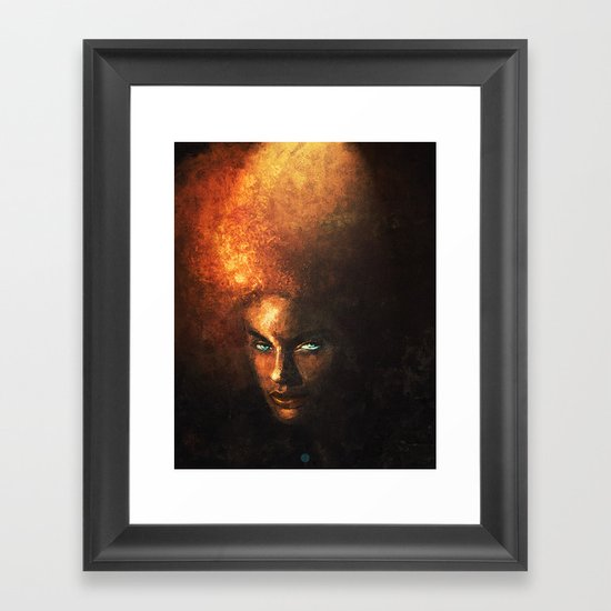 AFRO Framed Art Print
