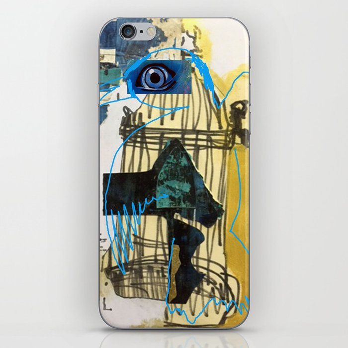 Blue Bird Escape  iPhone Skin