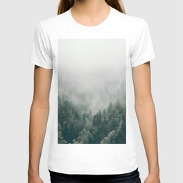 Foggy Forest 3 T-shirt