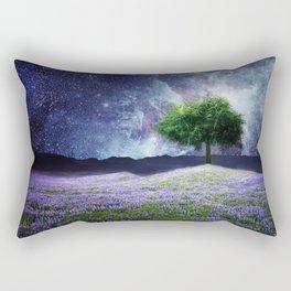 """Soul Tear"" - Nature Meets Space Rectangular Pillow"