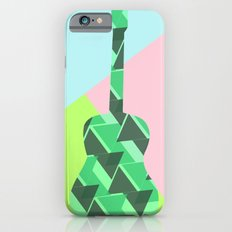 Triangles, colors and...guitars iPhone 6s Slim Case