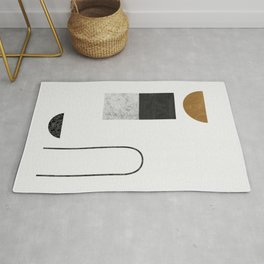 Abstract Geometric IV, Graphic Design Rug