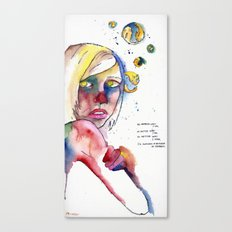 Regret Canvas Print