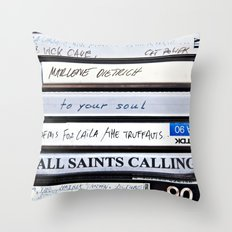 All Saints Calling Throw Pillow