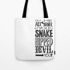 Alex Turner Tote Bag