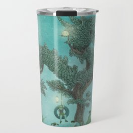 The Night Gardener - Dragon Tree night option  Travel Mug