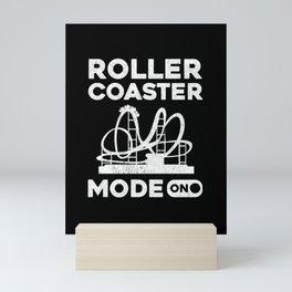 Roller Coaster prints | Roller Coaster Loving Peoples Gift Mini Art Print