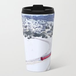 One winter day Metal Travel Mug