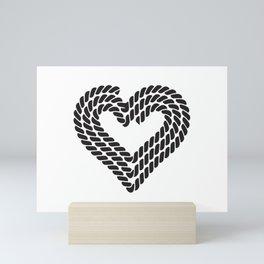 Heart Sailer Mini Art Print